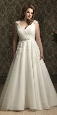 Stunning plus size wedding dresses 6
