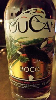 Rhum Toucan Boco Guyane