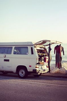 """So we'll live out in our old van, and travel all across this land. Just me and you."""