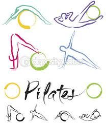 Illustration Pilates Classe