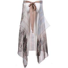 Fendi Skirt (€492) ❤ liked on Polyvore featuring skirts, fendi skirt and fendi