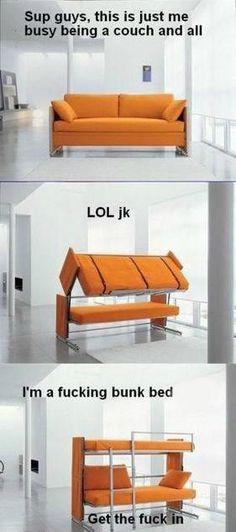 LOL! Jk!