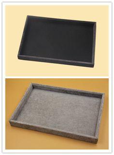 Black Velvet Display Tray Jewellery Organizer 35x24x3cm Retail Showcase Reliable