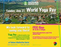 We want to yoga with you on World Yoga Day!
