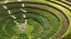 #Moray's concentric terraces in #Peru's #SacredValley.