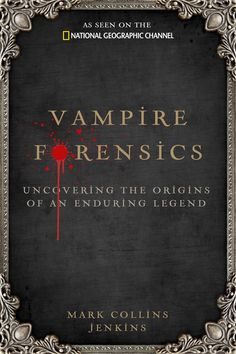 Mark Jenkins draws on the latest science, anthropological and archaeological research to explore the origins of vampire stories, providing historic and folkloric context for the concept of immortal beings who defy death by feeding on the lifeblood of others. From whispers of eternal evil in ancient Mesopotamia, Greece, and Rome, vampire tales flourished through the centuries and around the globe, fueled by superstition, sexual mystery, fear of disease/death, & anxiety that demons lurk…