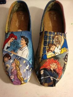 Painted shoes- NONONONO! These at the best ones! @Sam Taylor Reimer
