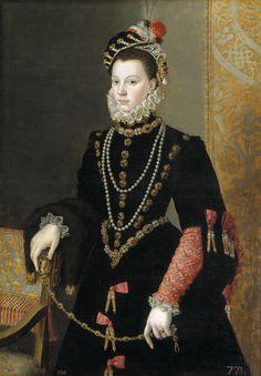 Portrait of Queen Elisabeth of Spain
