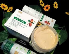 Klorane Hair Care:Love the hair masque treatment and leave-in cream!