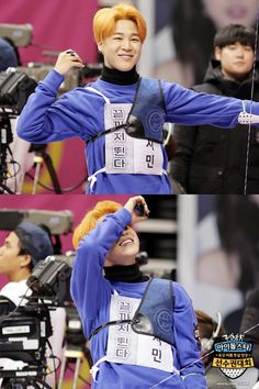 """[Picture] BTS at 2016 """"Idol Star Athletics Championships"""" Lunar New Year Special [160206]"""