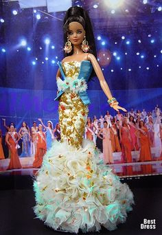 Ninimomo's Barbie.  The Caribbean.  2009/2010  Miss Curacao
