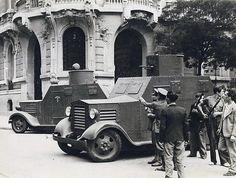 Madrid antiguo. Julio, 1936. La guerra civil