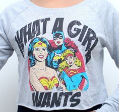 Camisa Feminina What a Girl Wants? R$55.00
