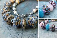 Matubo Rondelles Matubo Beads Jewelry Making Beaded Necklace