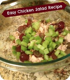 Easy Chicken Salad Recipe- Use inexpensive products to make awesome recipes for your family - Printable Coupons and deals -