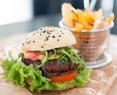 Vegan beanburger & glutenfree bread!