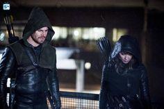 "#Arrow 5x12 ""Bratva"" - Oliver and Talia al Ghul"