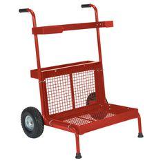 300 lbs. Capacity Red Portable Garden Dolly