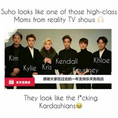 Baek would be kylie and sehun khloe thoughhh