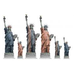 Stickers déco USA - déco urbaine Style USA étoile bleu blanc rouge