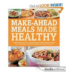 In an effort to be more domestic - healthy freezer dinner book in the mail