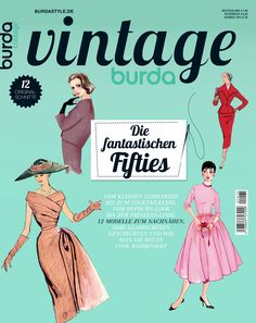 Sonderausgabe burda vintage Ausgabe 2014