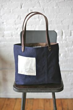 Forestbound Canvas Tote
