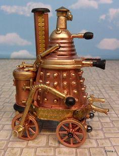 Steampunk Dalek - by mightymega, technabob  (photo by Emma.J)