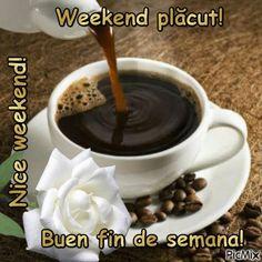 Weekend plăcut!t2 Archangel Raphael, Dan, Chocolate, Tableware, Desserts, Photos, Food, Nice Weekend, Cute Good Morning Quotes