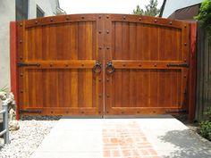 Wood Driveway Gates, Swinging Driveway Gates, Driveway Gates