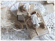 Geschenkverpackungen - ♥shabby Geschenkschachtel EULE♥ - ein Designerstück von lavendelherzl bei DaWanda