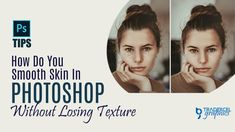 How to Smooth Skin Without Losing Textures | Facetune in Photoshop Image Editing, Photo Editing, Photoshop Youtube, Article Design, Smooth Skin, First Step, Lost, Graphic Design, Texture