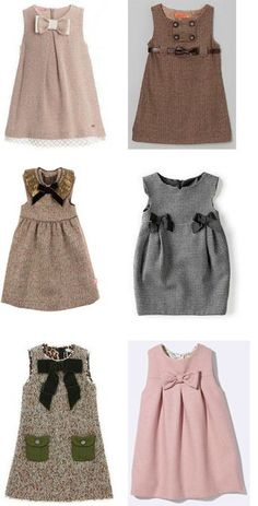 African style 692498880173742104 - vestidos para niña colores cafe Source by Kids Frocks, Frocks For Girls, Dresses Kids Girl, Kids Outfits, Little Girl Fashion, Kids Fashion, Trendy Fashion, Baby Frocks Designs, Baby Dress Design