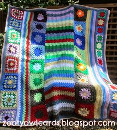 Mini Granny Square: Wade's Blanket CAL (Part 4)