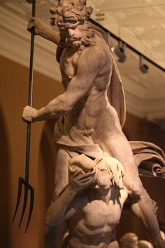 "Poseidon, god of the sea, storms and ""Earth-Shaker"" of earthquakes in Greek mythology"