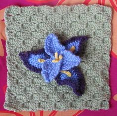 Free Crochet Pattern For Iris Flower : iris crochet on Pinterest Irish Crochet, Irish Lace and ...