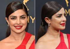 Holiday Party Hairstyles You Can Master in Your Office Bathroom - Priyanka Chopra's Low Pony from InStyle.com