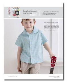 Pattern: Boy's Classic Summer Shirt - Media - Sew Daily