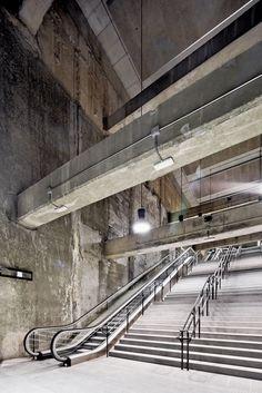 3 Estaciones de Metro de la Línea 9 by Garcés, De Seta & Bonet Arquitectes