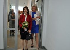 On Wednesday, Queen Silvia at Stockholm nursing home new nursing building.
