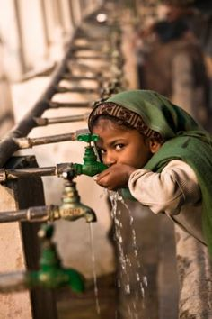 thirsty. *To find out how to sponsor a disadvantaged child's education in India, please go to: www.healcharity.org