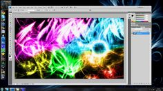 Tutorial - How To Make Abstract Colour (With Brushes) In Photoshop CS3,C...