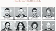 electrip pulp design studio homepage
