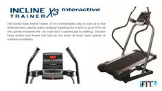 NordicTrack X3 - Advanced incline training - entry level price