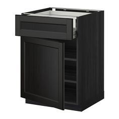 Grand ... Laxarby Brun Noir   IKEA 236u20ac. DODOUZ · Projet Cuisine · METOD /  FÖRVARA Él Bas Pte/face/tbls/2t B   Effet Bois