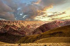 Argentina. Jujuy. El Hornocal. Cerro de 14 colores