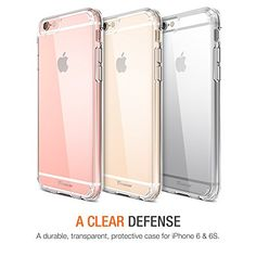 iPhone 6S Case , Trianium® [Clear Cushion] Premium iPhone 6 Case Bumper (4.7 Inch)[Scratch Resistant] Seamless integrated Shock-Absorbing Cover Cases Hard Back Panel Apple iPhone 6 6S (2014/2015) - http://www.rekomande.com/iphone-6s-case-trianium-clear-cushion-premium-iphone-6-case-bumper-4-7-inchscratch-resistant-seamless-integrated-shock-absorbing-cover-cases-hard-back-panel-apple-iphone-6-6s-20142015/