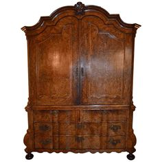 Dutch 18th Century Cabinet | From a unique collection of antique and modern cabinets at http://www.1stdibs.com/furniture/storage-case-pieces/cabinets/