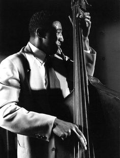 Ray Brown, 1948 // Photo: Herman Leonard //