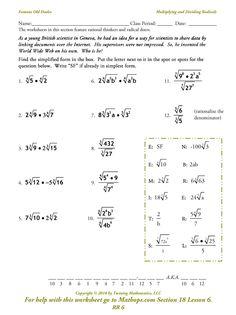 fog gof worksheet algebra ii pinterest algebra and worksheets. Black Bedroom Furniture Sets. Home Design Ideas
